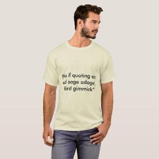 Truco del pájaro camiseta