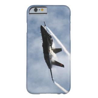 Truco del salón aeronáutico del avión del avión de funda para iPhone 6 barely there