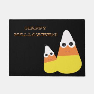 Truco o invitación del felpudo el | de Halloween