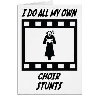 Trucos del coro felicitacion