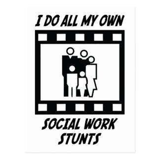 Trucos del trabajo social postal