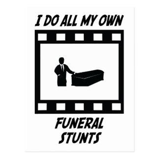 Trucos fúnebres tarjetas postales