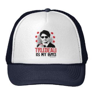 Trudeau es mi Bro - .png Gorros Bordados