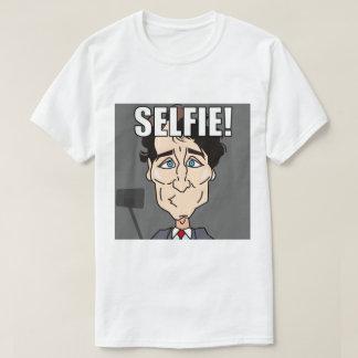 Trudeau Selfie Camiseta