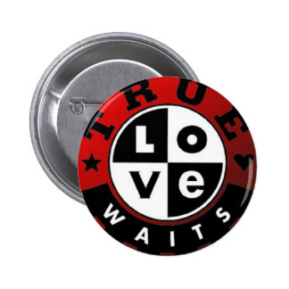 True_Love_Waits2 Chapa Redonda De 5 Cm