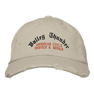 Trueno del valle, servicio americano del ciclo y gorras bordadas