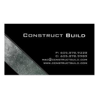 Trueque de la construcción de la tarjeta de visita