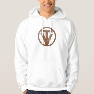 TrueVanguard - logotipo - sudadera con capucha