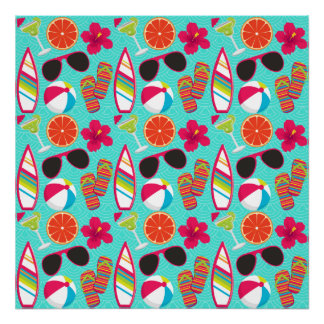 Trullo de la pelota de playa de las gafas de sol póster