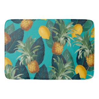 trullo del pineaple y de los limones alfombrilla de baño