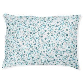 Trullo floral cama para mascotas