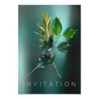 Trullo orgánico del cocinero de las especias del invitación 8,9 x 12,7 cm
