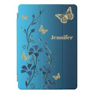 Trullo, oro floral, cubierta del iPad de las