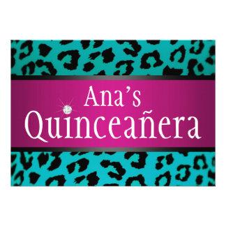 trullo Quinceanera del leopardo del inconformista Anuncios Personalizados