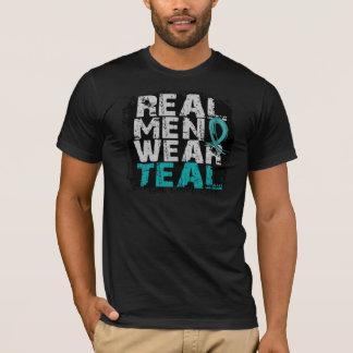 Trullo real del desgaste de hombres del cáncer camiseta