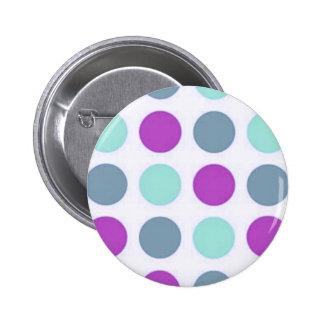 Trullo violeta Polkadots Pin