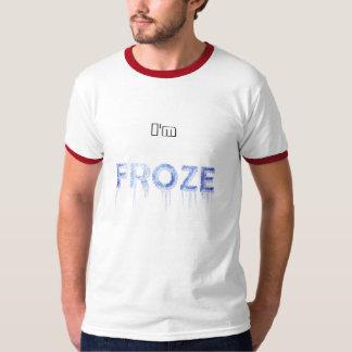 Ts_Im blanco congelado Camiseta