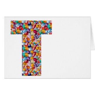 TTT gotea los regalos magníficos cubiertos las Tarjeta De Felicitación