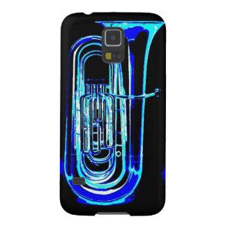 Tuba azul funda para galaxy s5