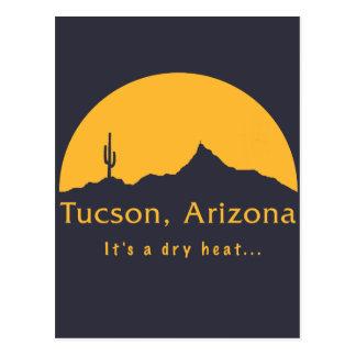 Tucson, Arizona - es un calor seco… Tarjetas Postales