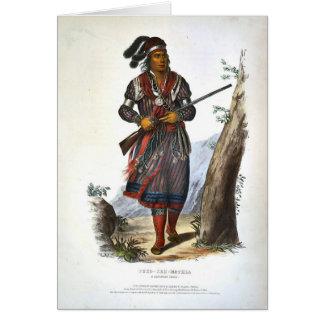 Tuko-Vea Mathla un jefe del Seminole Tarjeta De Felicitación