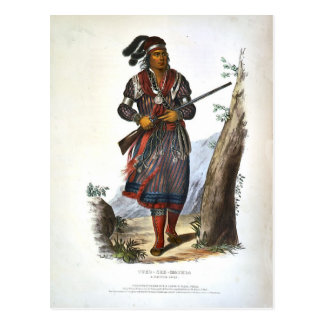 Tuko-Vea Mathla un jefe del Seminole Postal