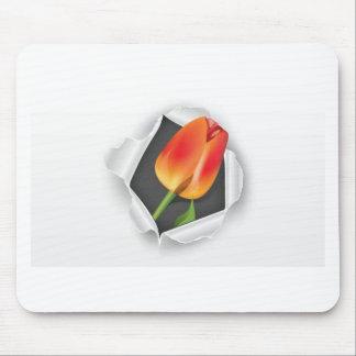 tulipán-papel-vector alfombrillas de ratones