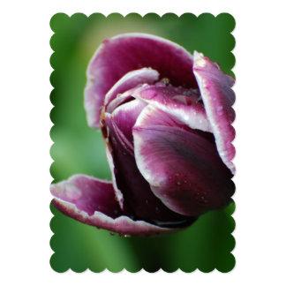 Tulipán perfecto invitación 12,7 x 17,8 cm