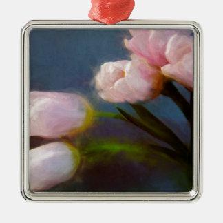 Tulipanes 1 adorno de cerámica
