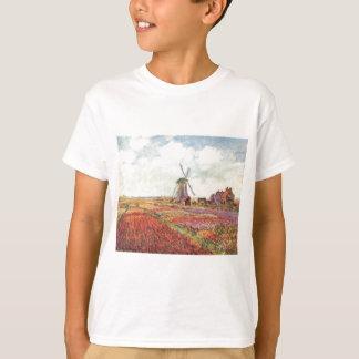 Tulipanes de Claude Monet en Holanda Camiseta