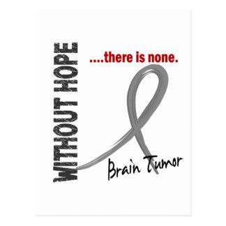 Tumor cerebral sin la esperanza 1 postal