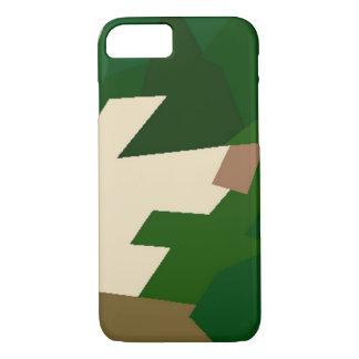 Tundra seca Camo Funda iPhone 7
