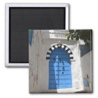 Túnez imán del cuadrado de 2 pulgadas