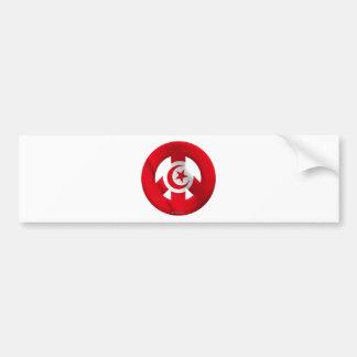Túnez Pegatina Para Coche