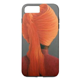 Turbante anaranjado funda iPhone 7 plus