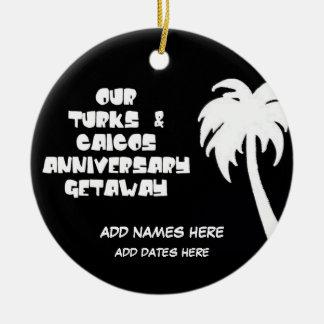 Turcos de encargo y aniversario de Caicos Ornato