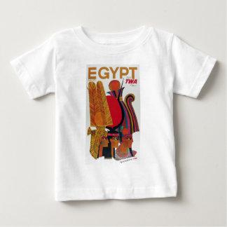 Turismo antiguo de la cultura del transporte aéreo camiseta de bebé