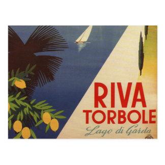 Turismo de Garda Riva Torbole Italia del lago Postal