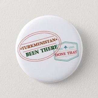 Turkmenistán allí hecho eso chapa redonda de 5 cm
