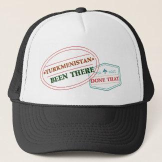 Turkmenistán allí hecho eso gorra de camionero