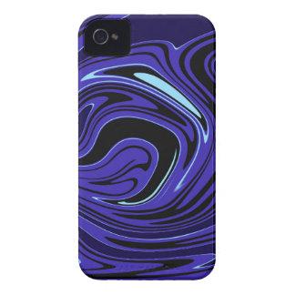 Turnado azul iPhone 4 Case-Mate fundas