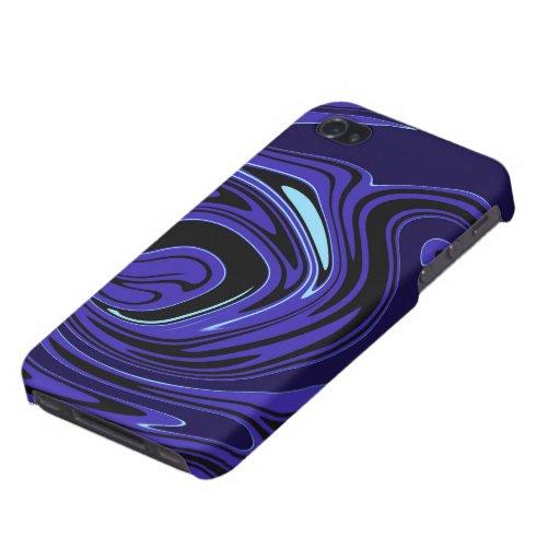 Turnado azul iPhone 4 funda