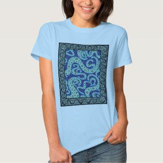 Turquesa Cogitating Camiseta