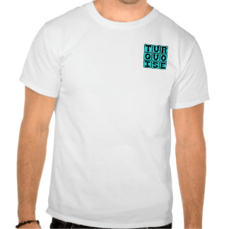 Turquesa, color camisetas