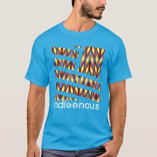Turquesa indígena del diamante camiseta