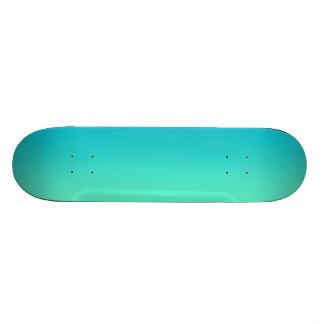 Turquesa Ombre Tabla De Skate