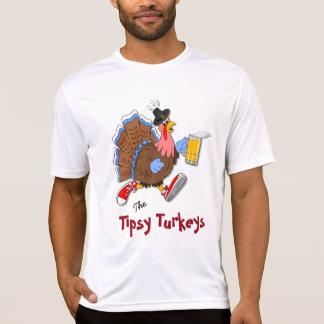 Turquía achispada (cerveza) - deporte Tek SS Camiseta