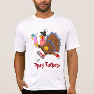 Turquía achispada (cóctel) - deporte Tek SS Camiseta