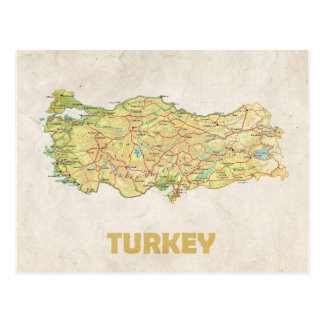 ♥ Turquía de las POSTALES del MAPA