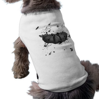 Tutú del Grunge Camisetas De Perro